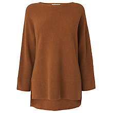 Buy L.K. Bennett Cassia Wool Blend Jumper, Camel Online at johnlewis.com