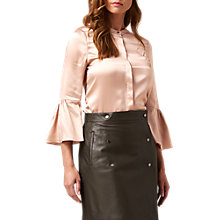 Buy L.K. Bennett Silk Willow Bell Sleeve Blouse Online at johnlewis.com