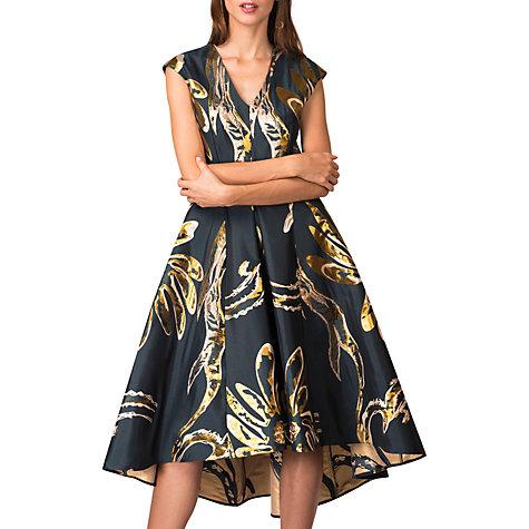 Buy Closet Floral Hi Low Dress, Multi Online At Johnlewis.com ...