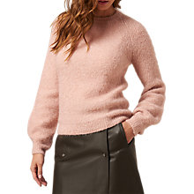 Buy L.K. Bennett Jolie Bell Sleeve Jumper, Chalkrose Online at johnlewis.com