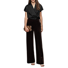 Buy Reiss Iona Silk Wrap Front Top Online at johnlewis.com