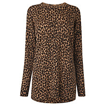 Buy L.K. Bennett Azalea Animal Print Jumper, Multi Online at johnlewis.com