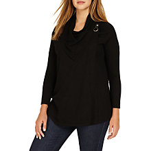 Buy Studio 8 Kendra Knit Cardigan, Black Online at johnlewis.com