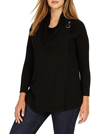 Buy Studio 8 Kendra Knit Cardigan, Black, 12 Online at johnlewis.com