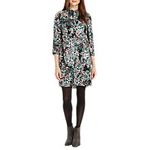 Buy Phase Eight Camille Floral Tunic Dress, Black/Multi Online at johnlewis.com