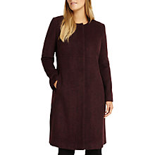 Buy Studio 8 Nina Coat, Burgundy Online at johnlewis.com