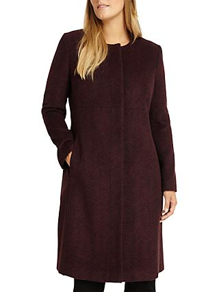 Studio 8 Nina Coat, Burgundy