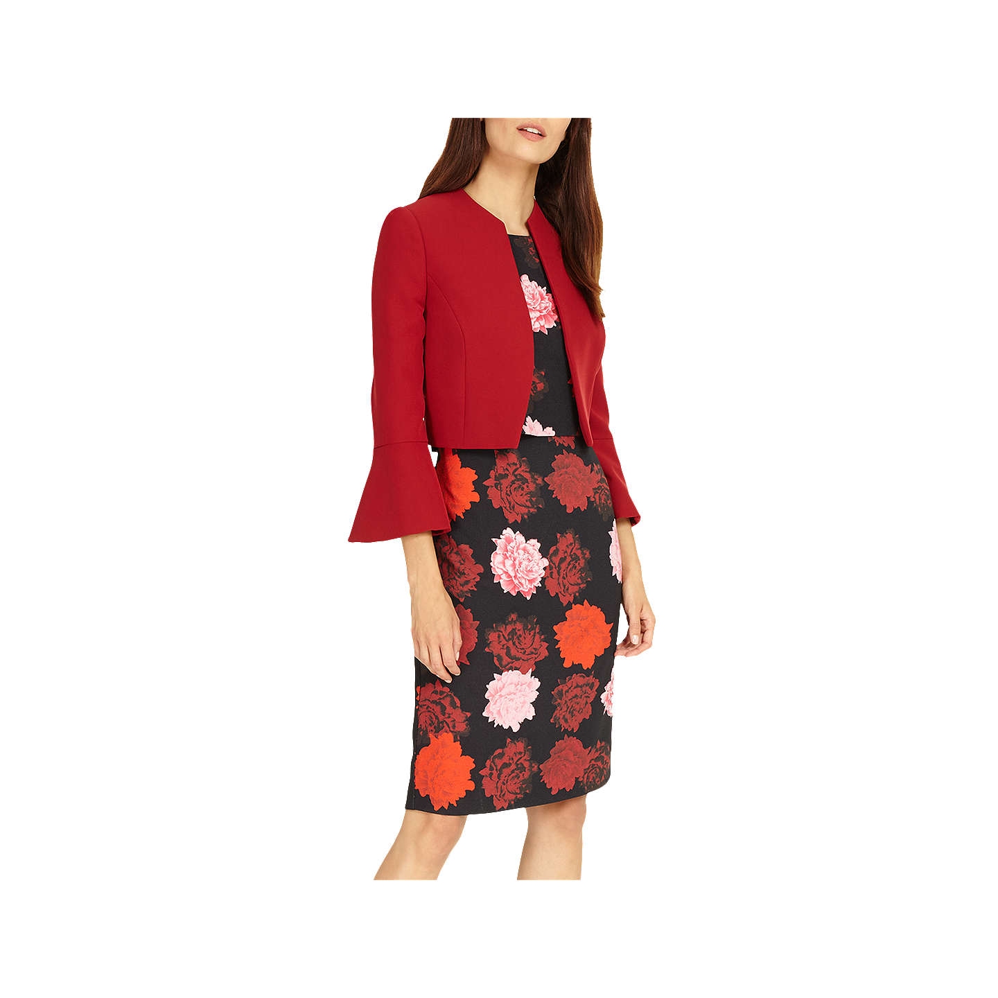 BuyPhase Eight Hanne Jacket, Fire, 6 Online at johnlewis.com