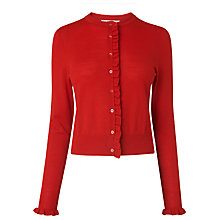 Buy L.K. Bennett Marthe Frill Detail Cardigan Online at johnlewis.com