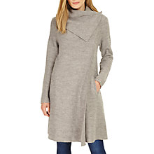 Buy Phase Eight Bellona Waterfall Coat, Grey Marl Online at johnlewis.com
