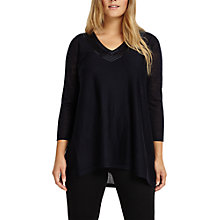 Buy Studio 8 Rosie Knit Top, Navy Online at johnlewis.com