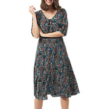 Buy Sugarhill Boutique Alice Floral Midi Dress, Teal/Multi Online at johnlewis.com