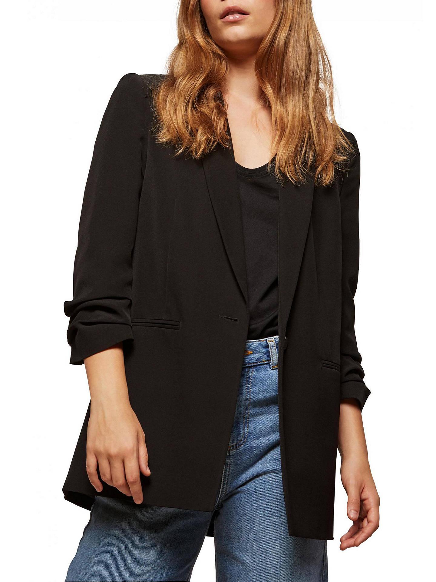 77575e79eab6d Buy Miss Selfridge Ruched Sleeve Blazer