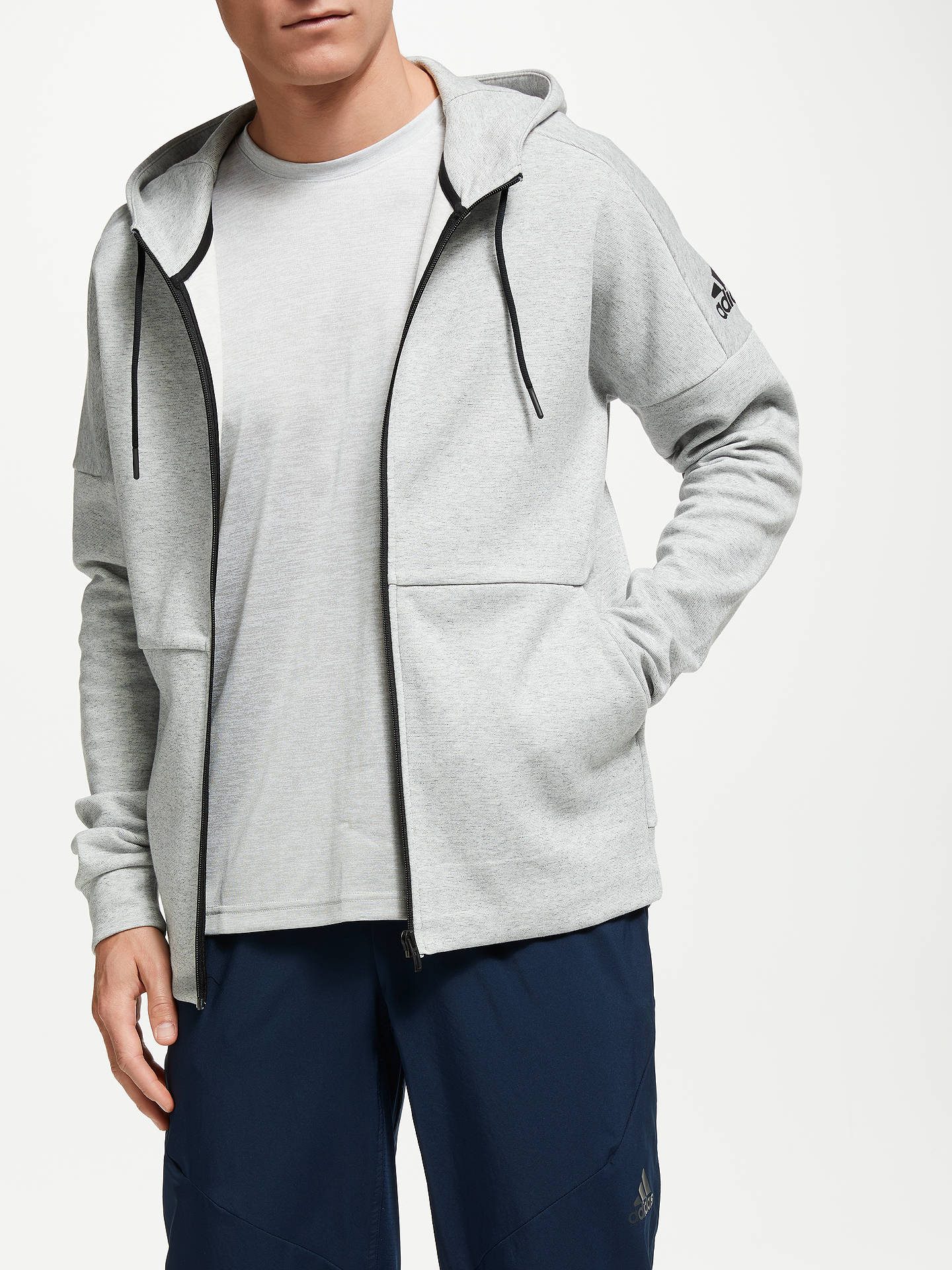 adidas ID Stadium Full Zip Hoodie at John Lewis & Partners