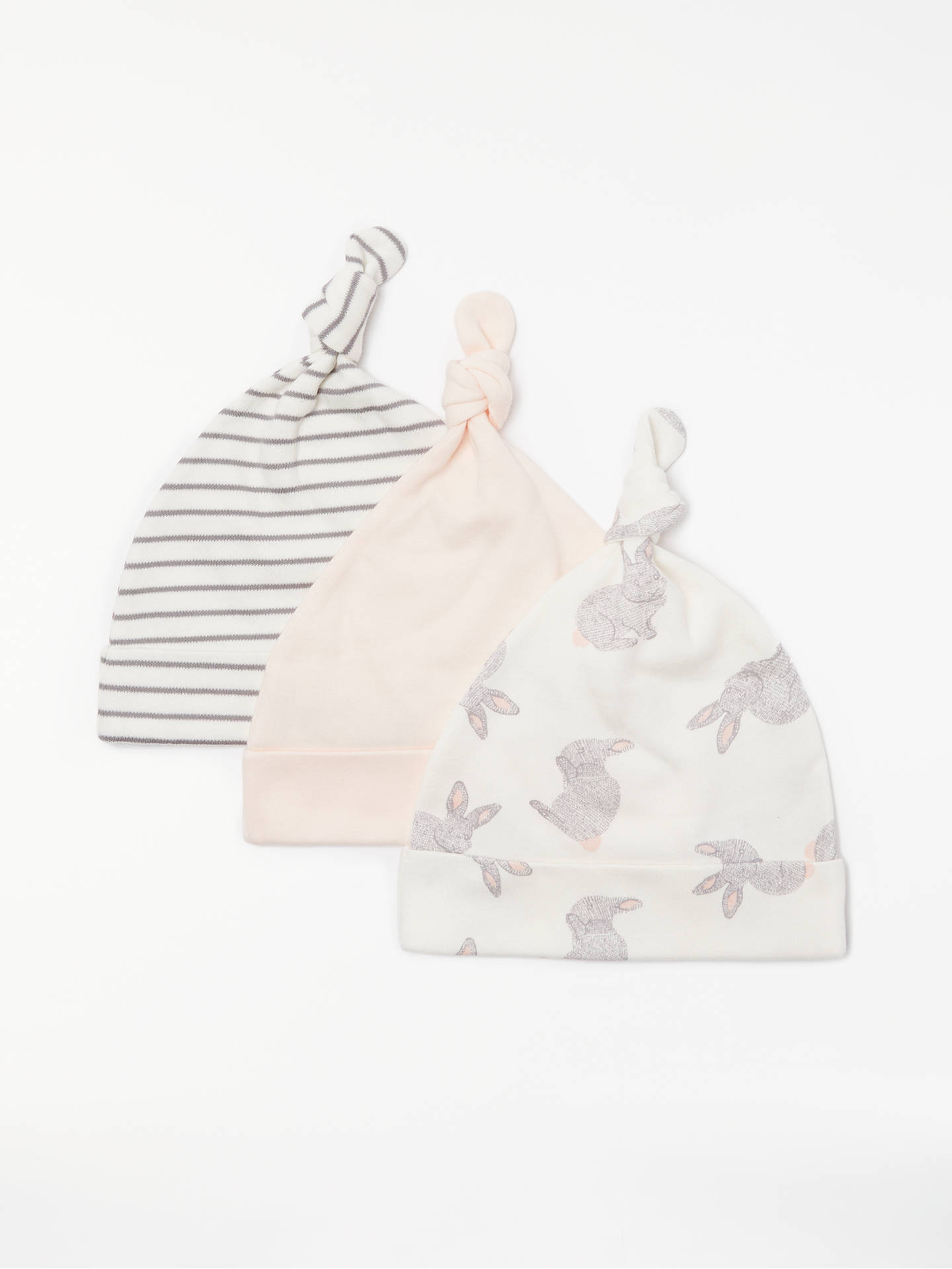 85c77cd08 John Lewis GOTS Baby Organic Cotton Hat