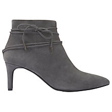 Buy Mint Velvet Kiera Pointed Toe Ankle Boots, Dark Grey Online at johnlewis.com