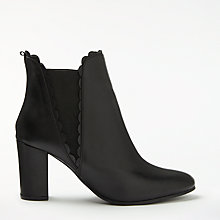 Buy Boden Alnwick Scallop Ankle Boots Online at johnlewis.com