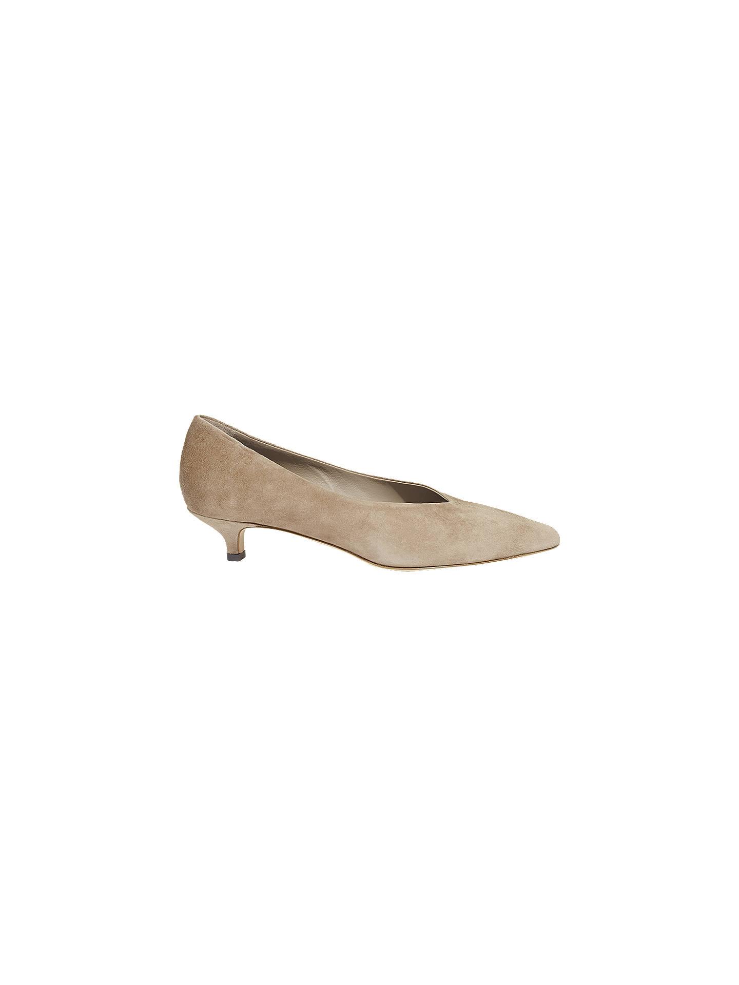 6e6bf75788f Jigsaw Felicity Kitten Heel Court Shoes at John Lewis   Partners