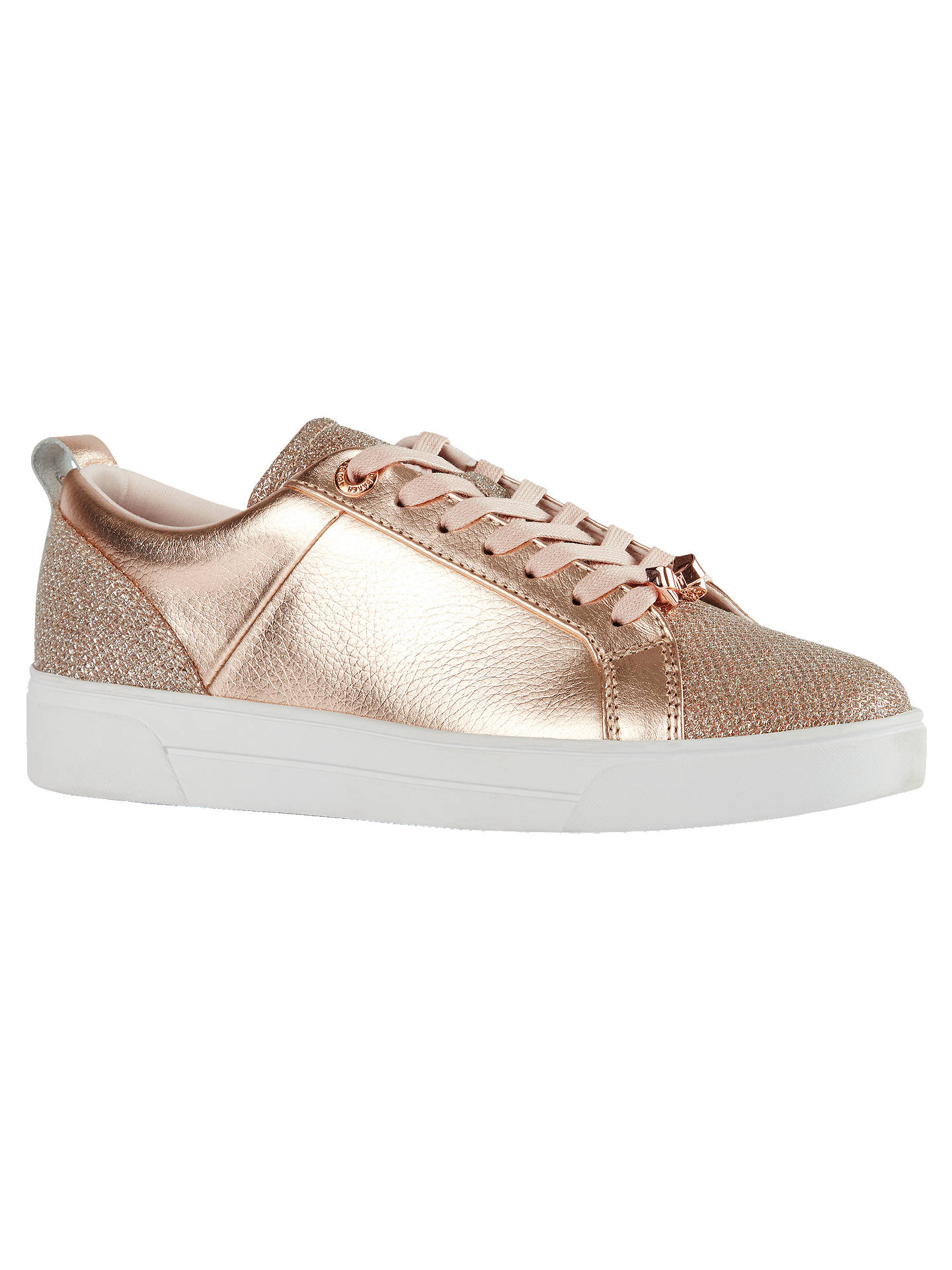 c788ff792f2 Ted Baker Kulei Lace Up Trainers at John Lewis   Partners