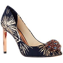 Buy Ted Baker Peetch Stardust Court Shoes, Multi Online at johnlewis.com