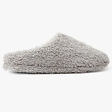 Buy John Lewis Sherpa Mule Slippers Online at johnlewis.com