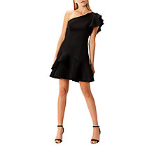 Buy Coast Madalina One Shoulder Mini Dress, Black Online at johnlewis.com