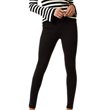 Buy Hobbs Regular Amanda Jeans, Black Online at johnlewis.com