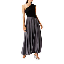 Buy Coast Lettie Soft Satin Maxi Dress, Black Online at johnlewis.com