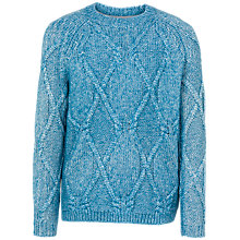 Buy Fat Face Jessica Chunky Cable Jumper Online at johnlewis.com