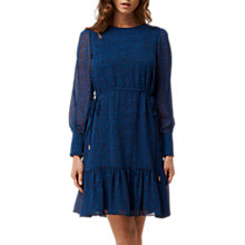 Buy L.K. Bennett Dakota Short Printed Dress, Blue Animal Online at johnlewis.com