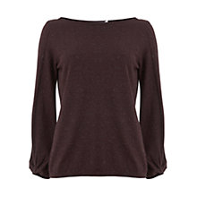 Buy Mint Velvet Knot Cuff Jumper Online at johnlewis.com