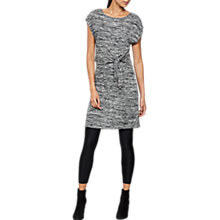Buy Mint Velvet Knot Front Tunic, Black Online at johnlewis.com