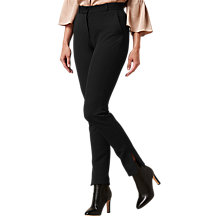 Buy L.K. Bennett Orla Suiting Trousers, Black Online at johnlewis.com