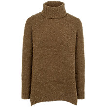 Buy Fat Face Loxley Long Sleeve Jumper, Dark Moss Online at johnlewis.com