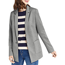 Buy Oasis Boyfriend Blazer, Mid Grey Online at johnlewis.com