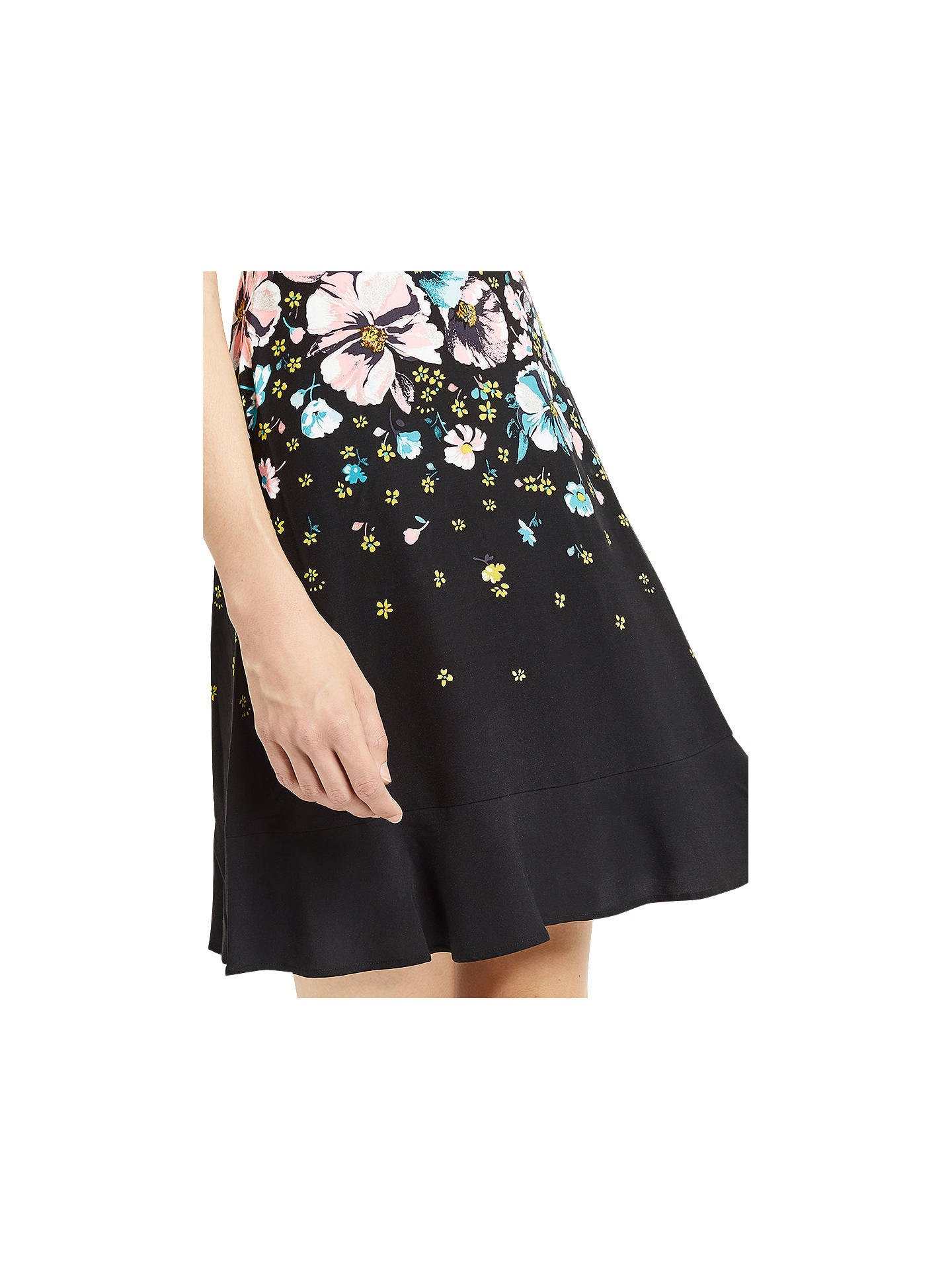 BuyOasis Rosetti Skater Dress, Multi/Black, 6 Online at johnlewis.com