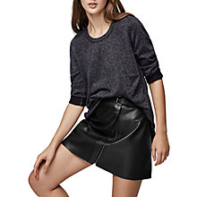 Buy Reiss Reagan Metallic Jumper Online at johnlewis.com