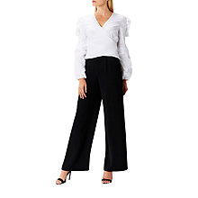 Buy Coast Inga Wrap Blouse, Ivory Online at johnlewis.com