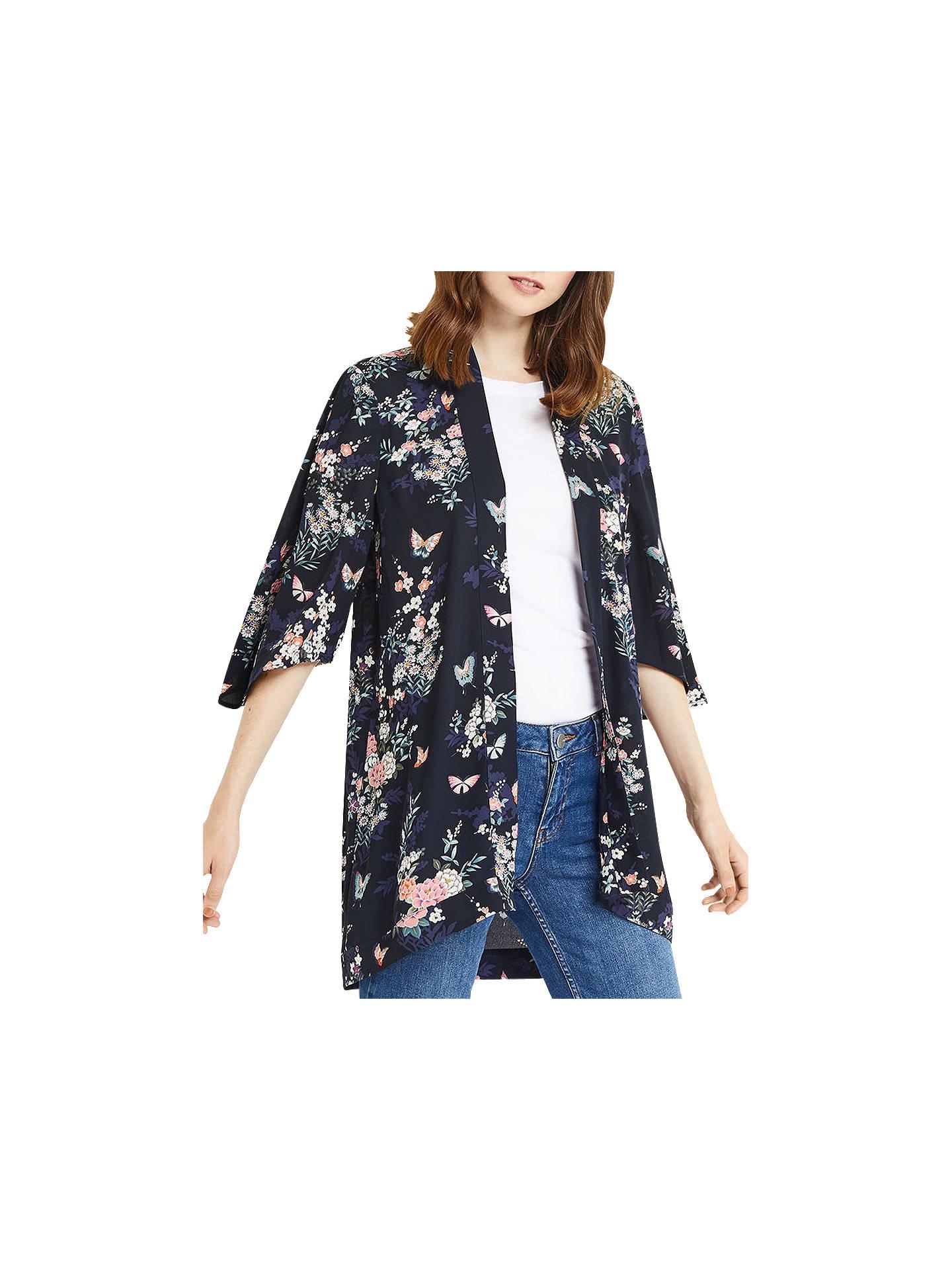 cc0ff5d809a6 Buy Oasis Katrina Oriental Kimono, Multi, 6 Online at johnlewis.com ...