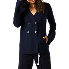 Buy Jigsaw Merino Wool Sailor Jacket, Navy Online at johnlewis.com