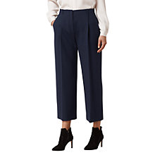 Buy L.K. Bennett Casia Wide Leg Trousers, Sloane Blue Online at johnlewis.com