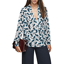 Buy Reiss Carina Printed Shirt, Multi Online at johnlewis.com