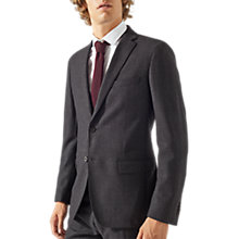 Buy Jigsaw Bloomsbury Wool Jacket, Graphite Online at johnlewis.com
