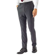 Buy Jigsaw Bloomsbury Italian Wool Trousers, Graphite Online at johnlewis.com