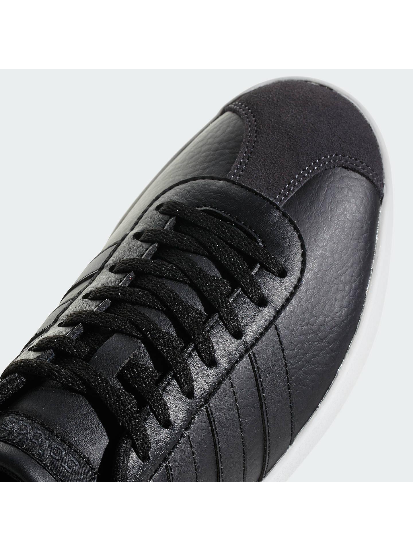 Authentique Saturer trop adidas vl court leather trainers mens ...