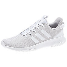 Buy Adidas Cloudfoam Racer TR Men's Trainers, Grey Online at johnlewis.com