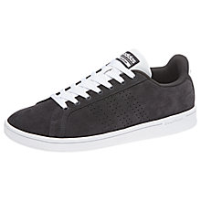 Buy adidas Neo Cloudfoam Advantage Clean Men's Trainers, Carbon Online at johnlewis.com