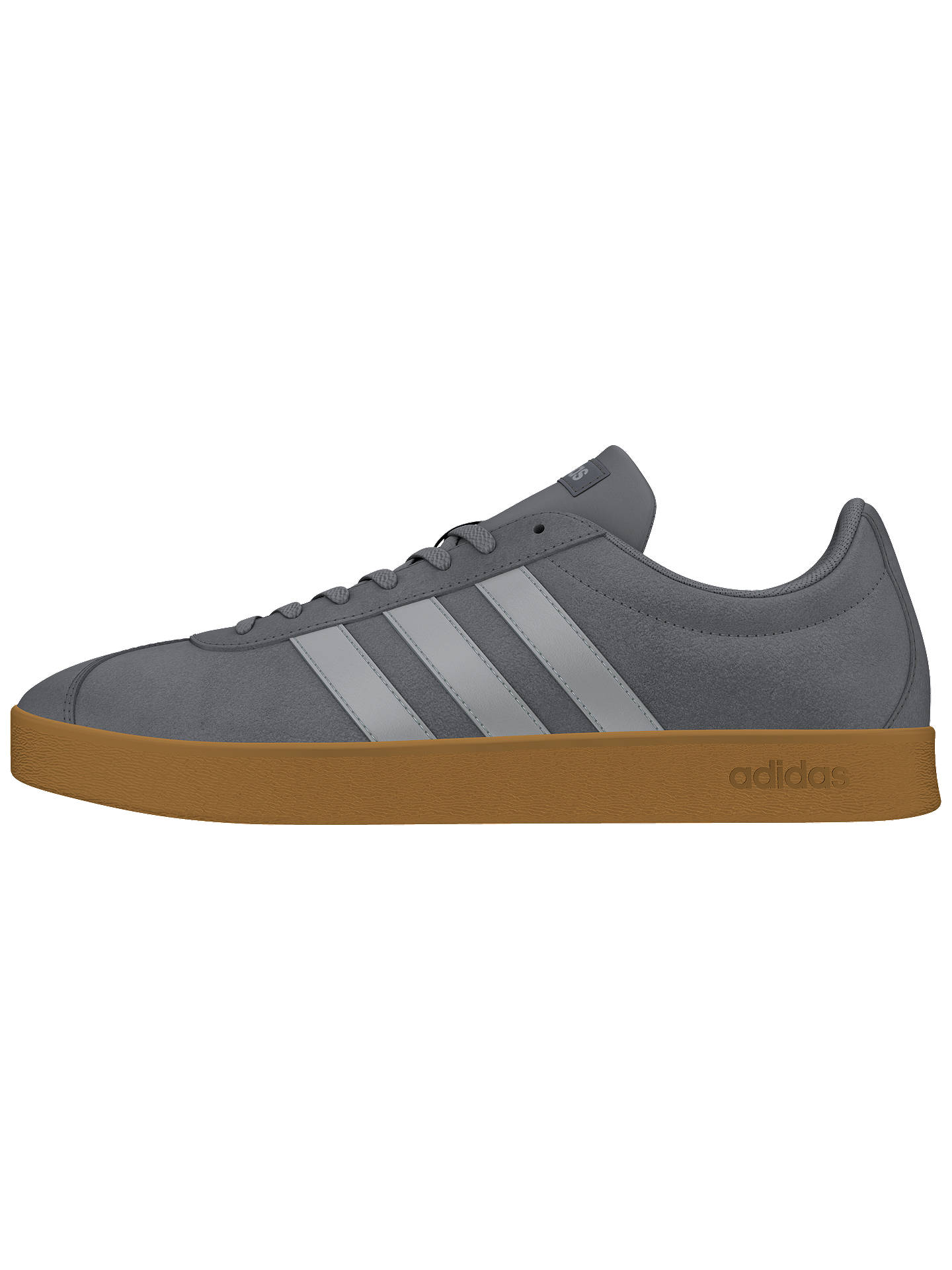 Neo Grey Court John 2 Adidas Trainers Men's Lewis At Vl 0 Suede d88wI7q