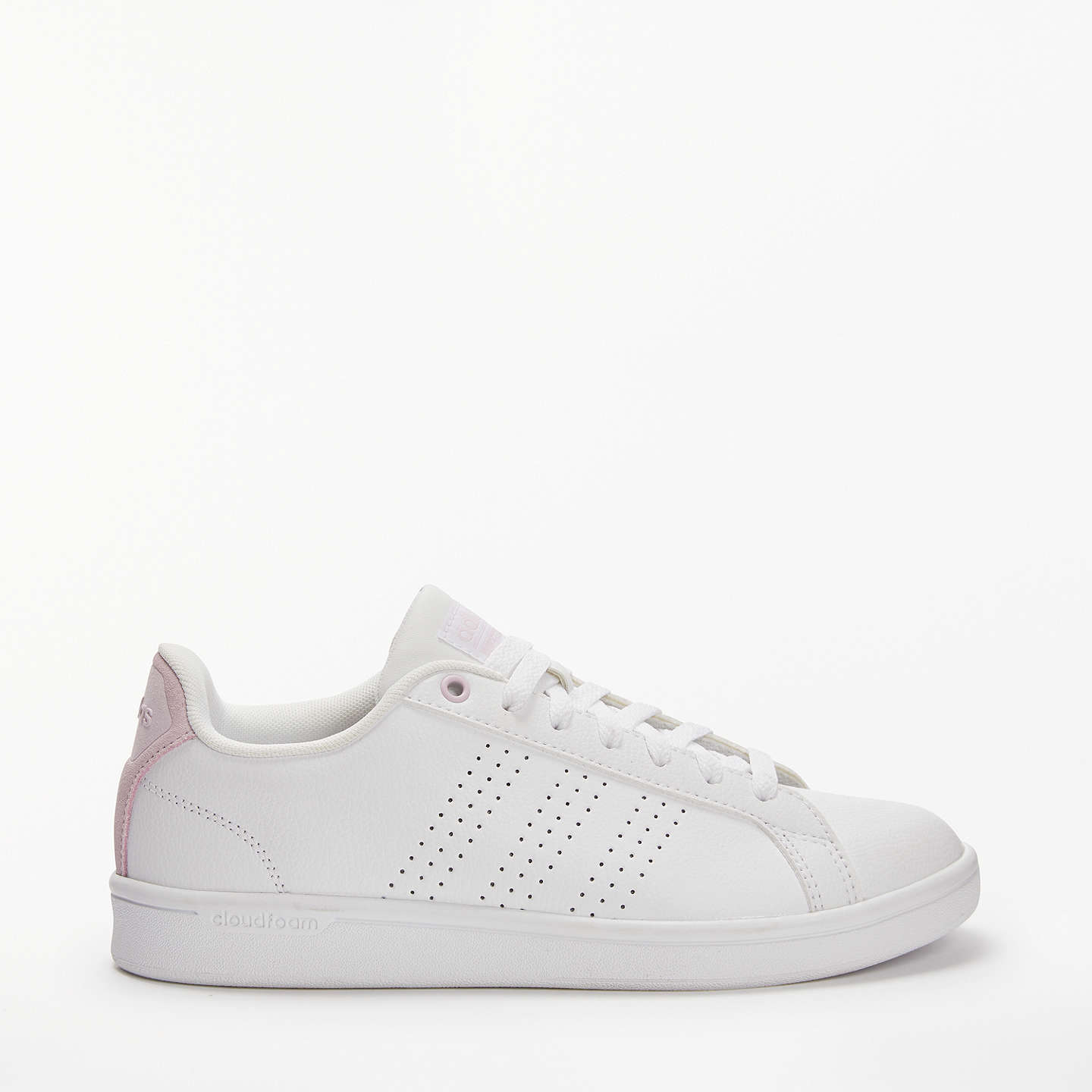 Buyadidas Neo Cloudfoam Advantage Women's Trainers, White, 4 Online at  johnlewis. ...