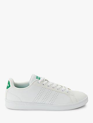 adidas Cloudfoam Advantage Clean Men's Trainers, White at John ...